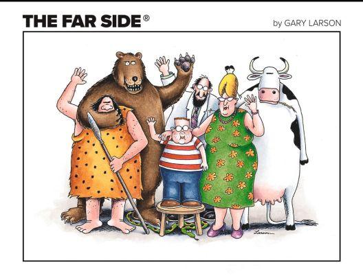 По 25 години се вратија карикатурите на култниот Гери Ларсон