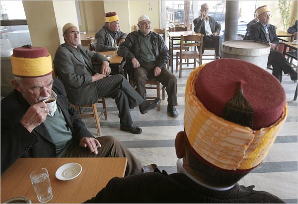 Турци во Ксанти, Западна Тракија, Грција, кои биле изземени од размената на население со Турција