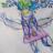 Страшната шума преку цртежите на малиот Калин
