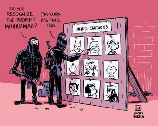 Шарли Ебдо, смеата на ангелите и смеата на демоните