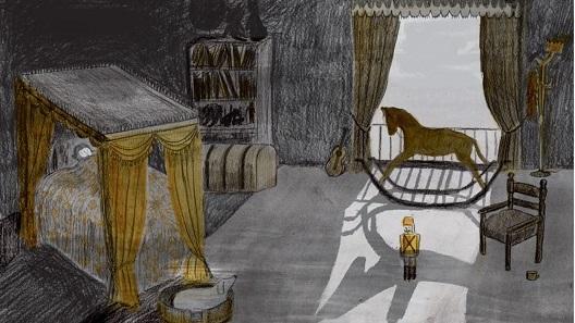 """Допирни точки на сликовницата """"Кралот кој го забрани мракот"""" со """"Изворите на тоталитаризот"""" од Арент"""