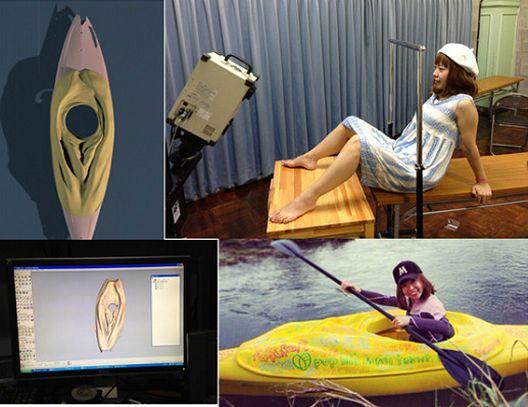 Јапонска уметница прави дела според модел од својата вагина