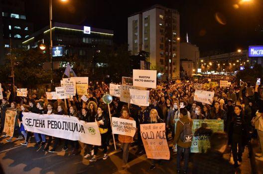 Масовен  Марш за воздух во Скопје