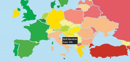 Северна Македонија меѓу најлошите во Европа според почитување на правата на ЛГБТИ заедницата
