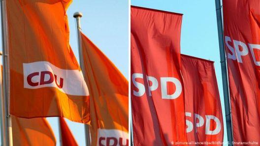 Европски избори: Историски лош резултат за германските владеачки партии