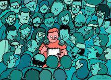 Сатиричните илустрации на Жан Жулиан
