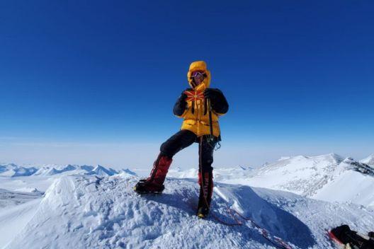 Илина Арсова ги искачи највисоките врвови на седумте континенти