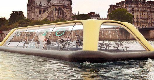 Италијански архитекти конструираа брод што ќе се движи на човечки погон