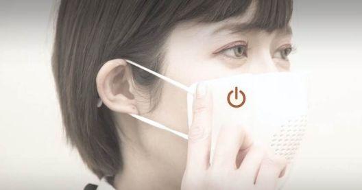 """Јапонците направија """"паметна"""" заштитна маска за лице"""