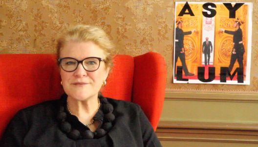 """Предавање на Хедвиг Фејен, основачка на """"Манифеста"""" во МСУ"""