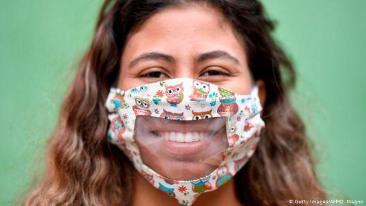 Заштитна маска за глуви лица