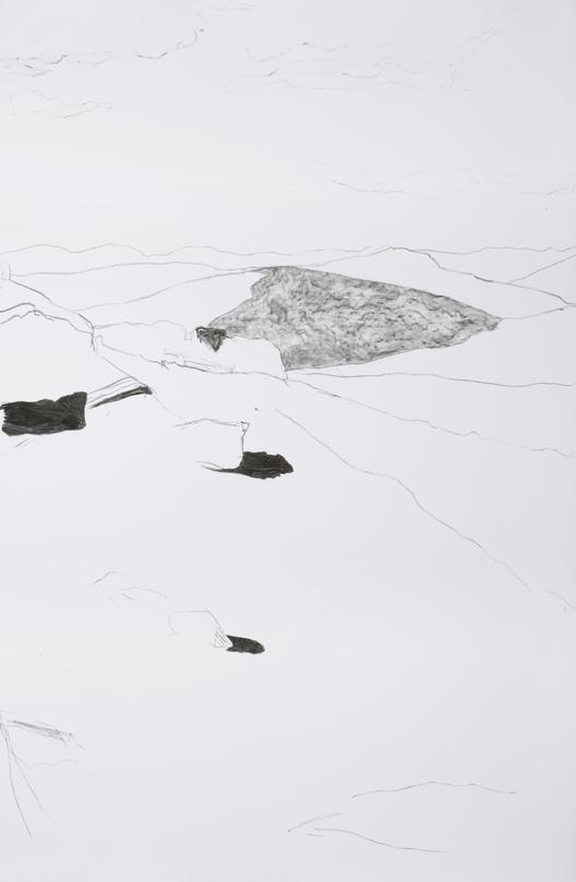 """""""За каменот"""" - изложба на француската уметница Флор Хелуан"""