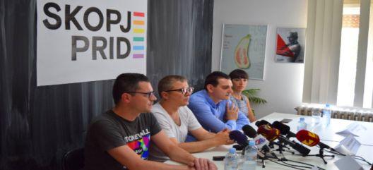 Поддршка од повеќе институции за Парадата на гордоста во Скопје