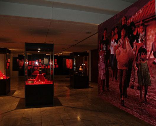 """Изложба: """"Црвен петел-црна кокошка: култови на плодноста, обреди, обичаи и верувања"""""""