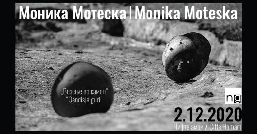 """""""Везење во камен"""" - изложба на Моника Мотеска"""