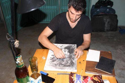 """Уметничка резиденција со уметници од Јужна Америка и од Скопје  """"Допир и простор"""""""