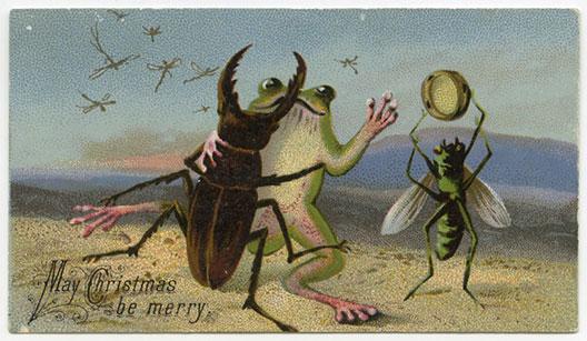 Чудни викторијански новогодишни и божиќни честитки