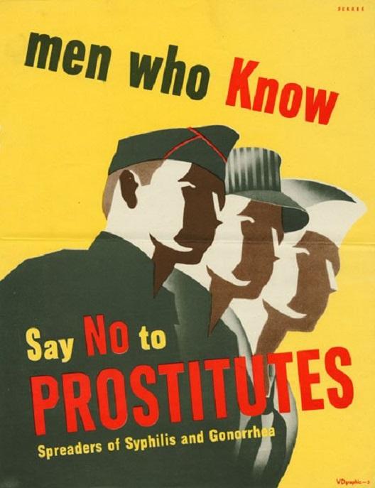 Американски постери против проституција (1939-1945)