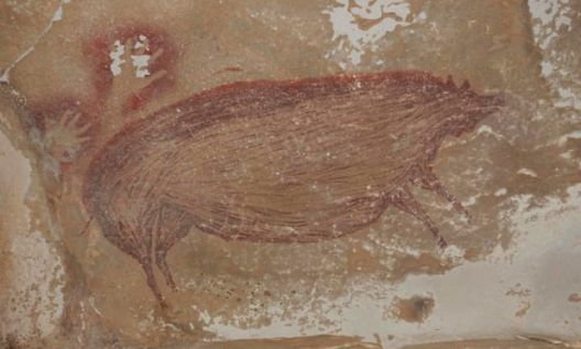 Најстариот пештерски цртеж датира од пред 45 000 години