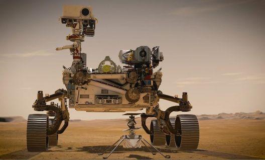 """Роверот на НАСА """"Perservence"""" слета на Марс"""