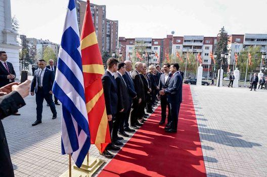 При посетата на Ципрас нема законски прекршувања за химната
