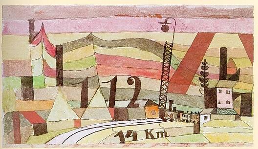 Пол Кле како гиф-уметник