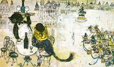 Винтиџ илустрации за басните на Езоп