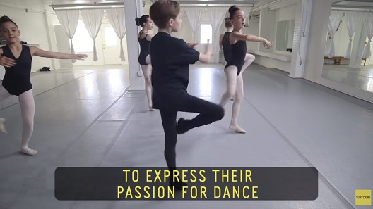 Малиот балерино