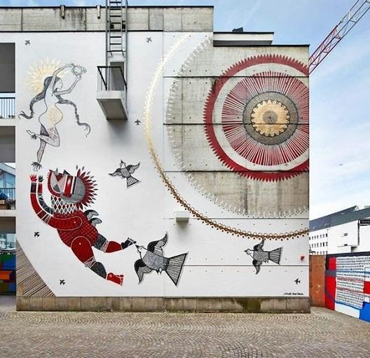 Бразилски уметници го разубавуваат Франкфурт