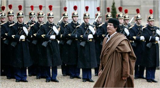 Гадафи во Франција
