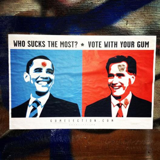 Gum Election: Кога гумата за џвакање избира