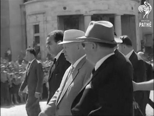 Хрушчов во посета на Скопје