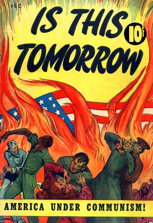 Ретро американски антикомунистички постери