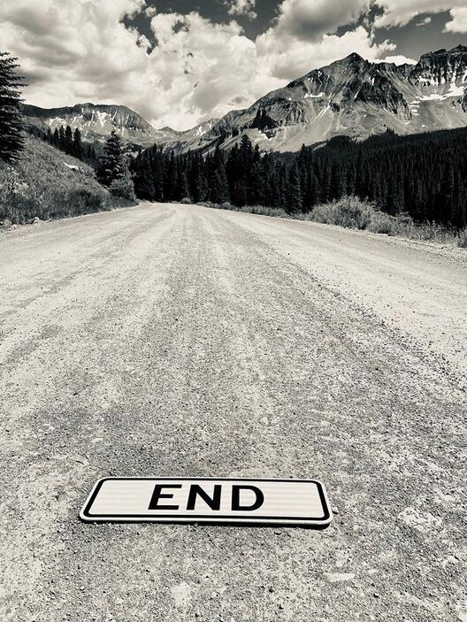 Паднат знак на патот