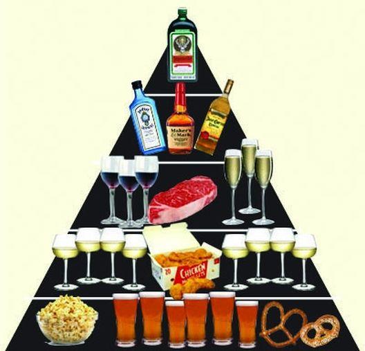 Пијанорексија: кога јадете помалку за да пиете повеќе.