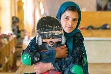 Скејтерки од Кабул