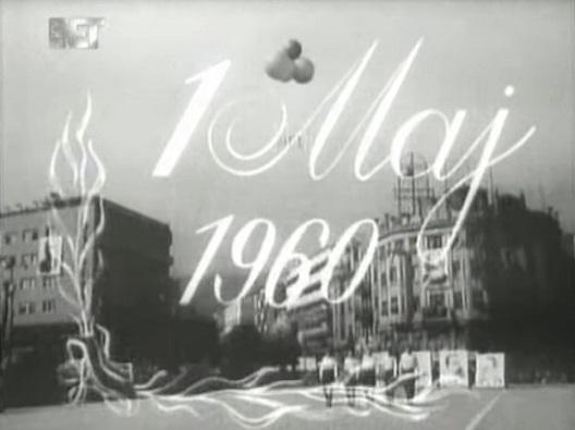 Првомајска парада 1960