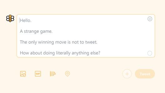 """Застрашувачко предупредување одненадеж се појавува на сите Твитер корисници: """"Единствениот добитен потег е да не твитнеш"""""""