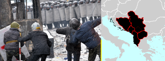 Нема украинско, туку балканско сценарио пишувано од корумпирани лидери