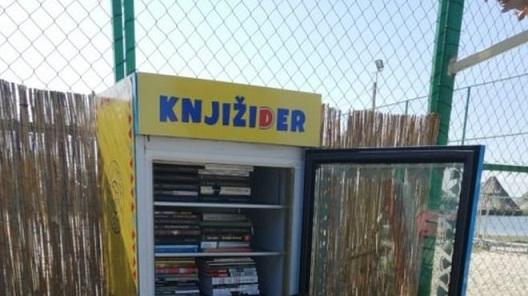 Книжидер – од расипан фрижидер до полица за книги