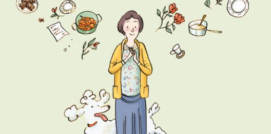 Илустрирана книга за деца за љубовта меѓу Гертруда Штајн и нејзината сопруга
