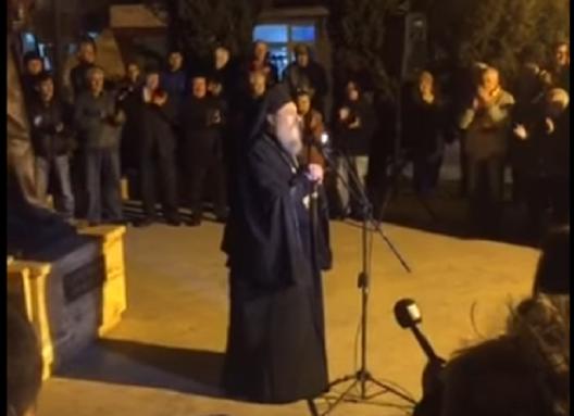 Свештеници на протест: Хушкачките пораки на владиката Агатангел