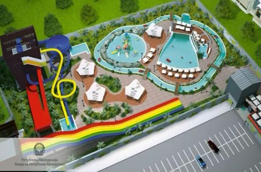 Ќе се гради аквапарк на скопскиот плоштад