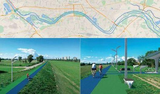 Загреб ќе добие 120 километри велосипедски автопат