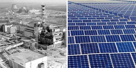 Чернобил ќе се претвори во голем соларен парк?