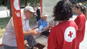 Црвениот крст на дело
