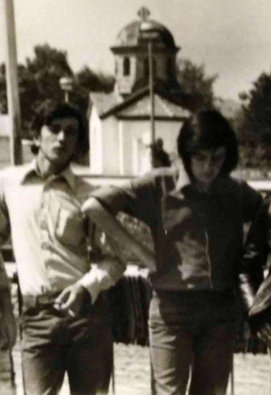 "Климе и јас, едрилица класа ""Кадет"", лето 1968"