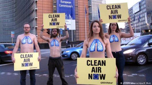ЕК се заканува со тужби против загадувачите на воздухот