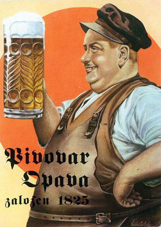 Стари рекламни постери за пиво