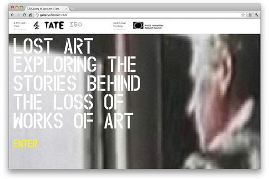 Галеријата на изгубена уметност на Tate Media